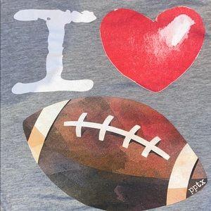 "Boutique ""I ❤️ 🏈"" / I Love Football Top"